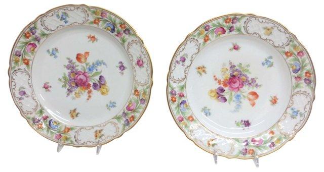 Schuman Plates, Pair