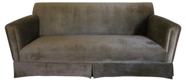 Wool Velvet  Sofa