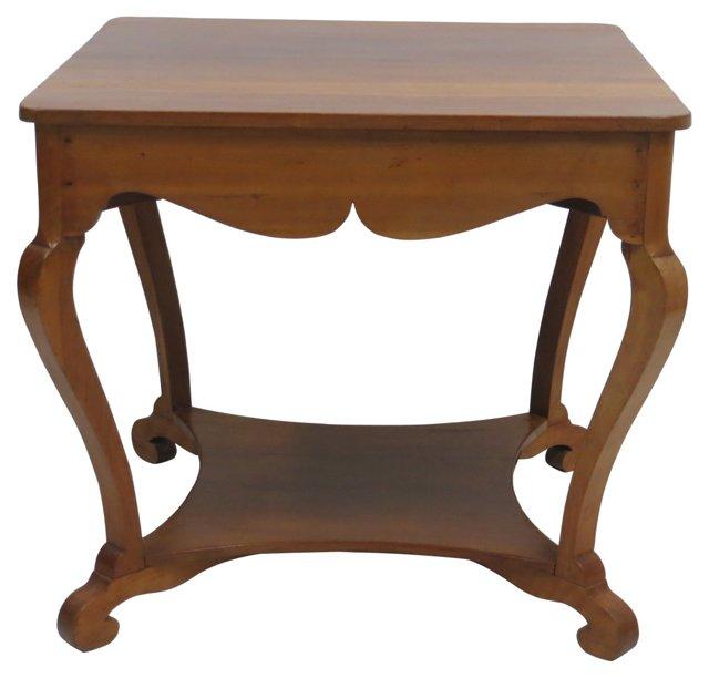 19th-C.  Beidermeier Center Table