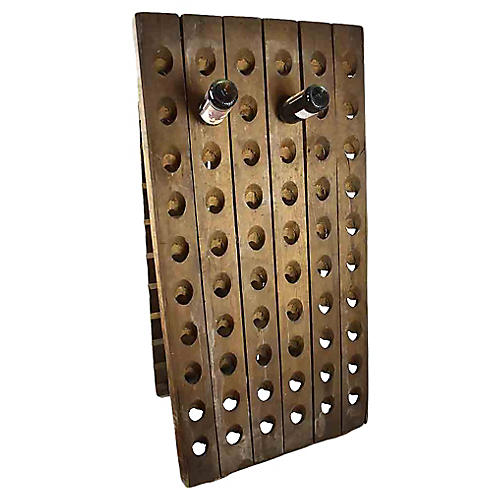 Riddling Wine Bottle Rack
