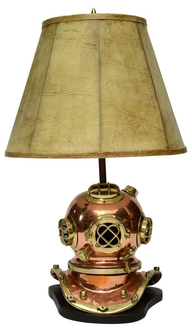 Diver's Helmet Lamp