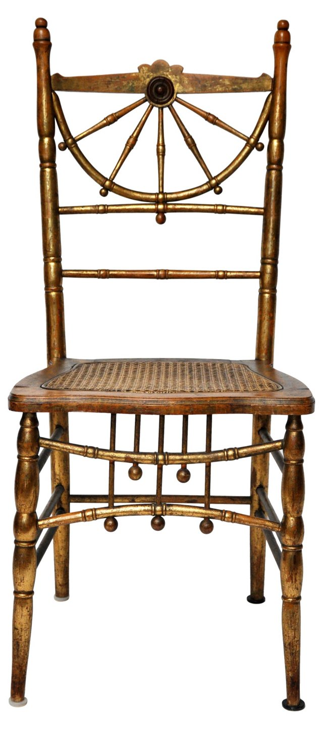 Gilt Side Chair