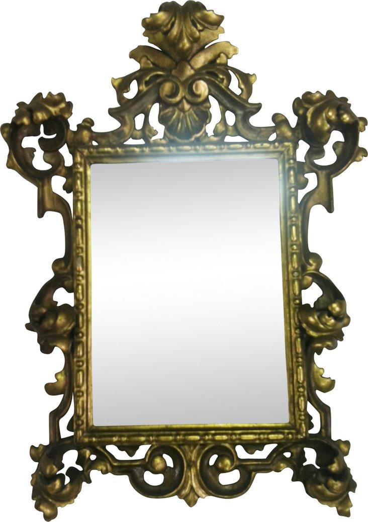 Giltwood Venetian Mirror