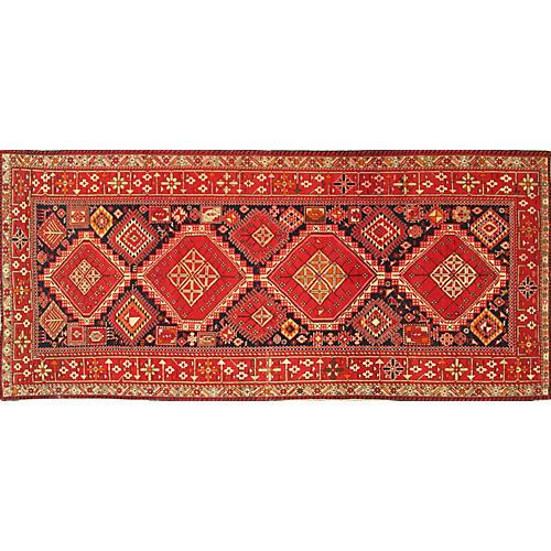 "Caucasian Karabagh Rug, 5'1"" x 10'5"""