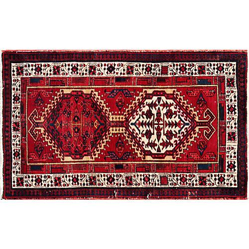 "Persian Serab Rug, 3'1"" x 5'3"""