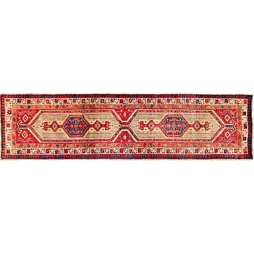 "Persian Serab Runner, 3'1"" x 11'9"""