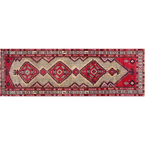 "Persian Serab Rug, 3'5"" x 10'2"""