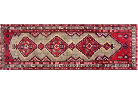 Persian Serab Rug, 3'5