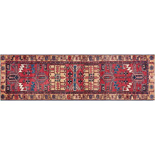 "Persian Serapi Rug, 3' x 10'3"""