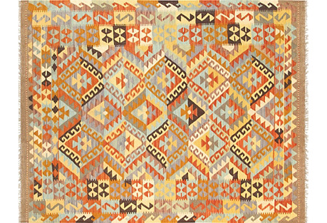 Turkish Kilim, 5'1