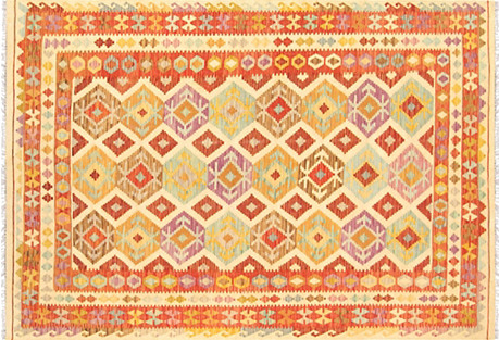 Turkish Kilim, 6'7