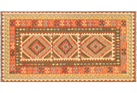Turkish Kilim, 3'3