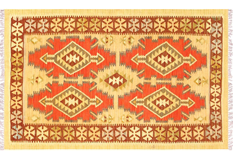 Turkish Kilim, 3'1