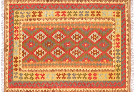 Turkish Kilim, 4'11
