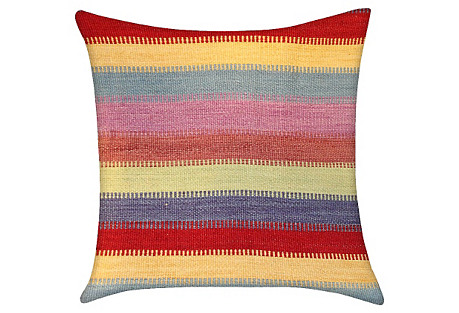 Turkish Striped Pillow