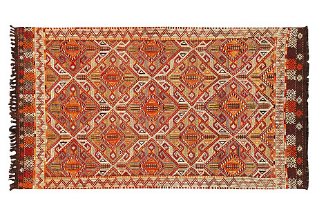 Turkish Anatolian Rug, 3'9