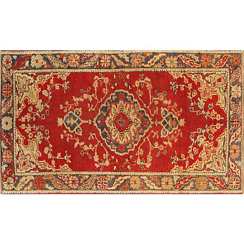 "Turkish Anatolian Rug, 3'1"" x 5'4"""