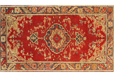 Turkish Anatolian Rug, 3'1