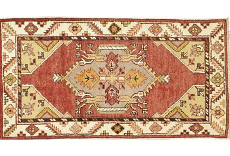 Turkish Sivas Rug, 2'5