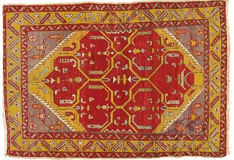 Turkish Sivas Rug, 3'2