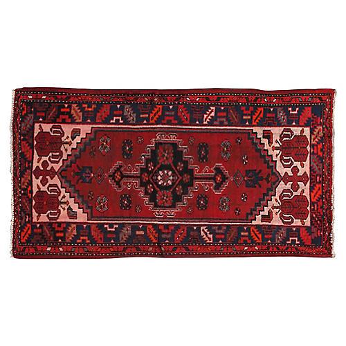 "Persian Shiraz Rug, 3'4"" x 6'5"""