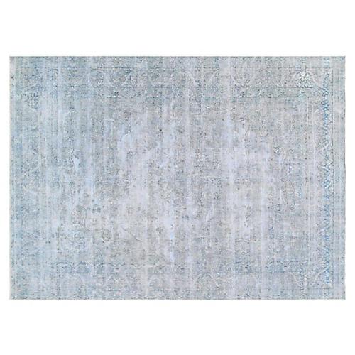 "Persian Overdyed Carpet, 9'5"" x 13'6"""