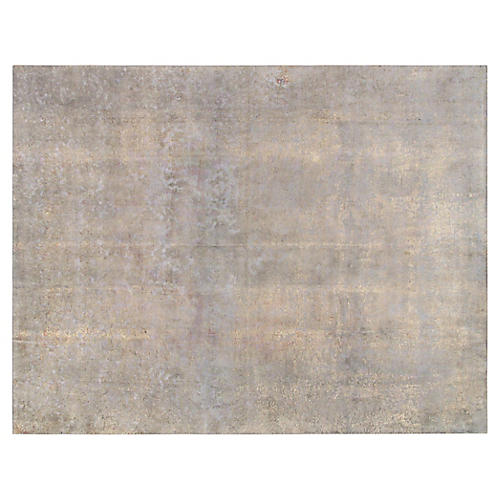 "Overdyed Carpet, 9'7"" x 12'6"""