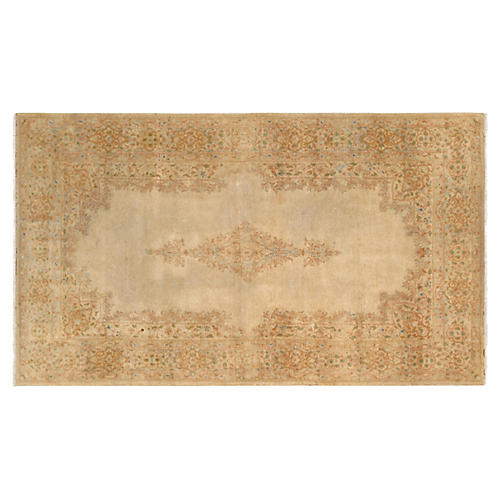 """Kerman Hand-Knotted Rug 3'10"""" X 6'11"""""""