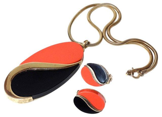 Alice Caviness Necklace & Earrings Set