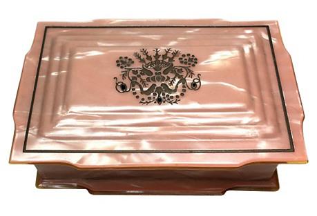 Dupont Peach Vanity Box