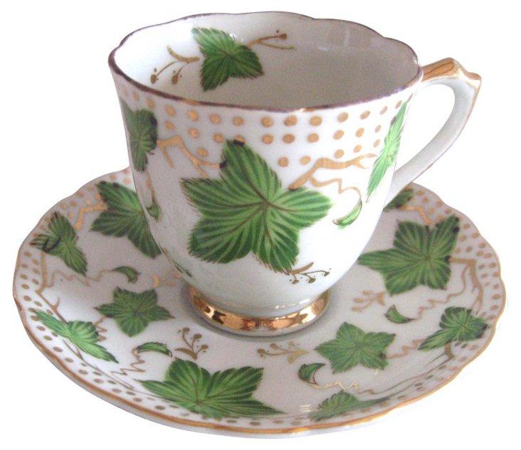 Ivy Cup &    Saucer