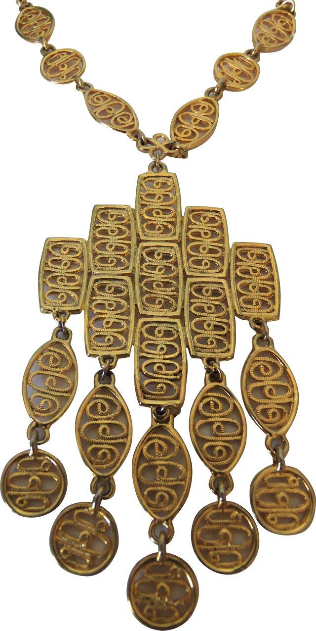 Chandelier Tassel Necklace