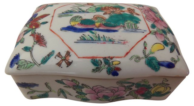 Chinese Painted Box