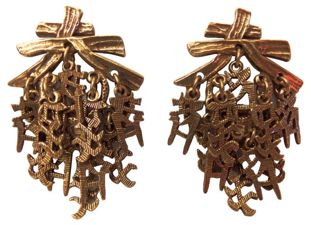 Chinese Characters Earrings