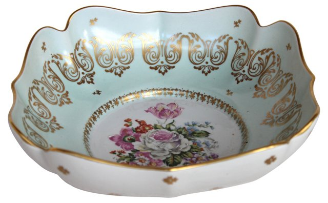 French Floral Bowl