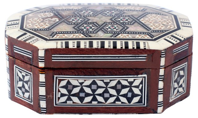 Mother-Of-Pearl Inlay Box