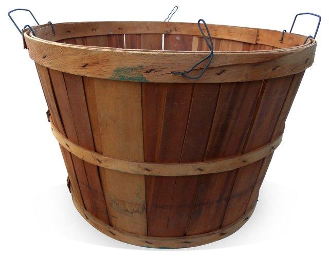 Apple Basket w/ Handles