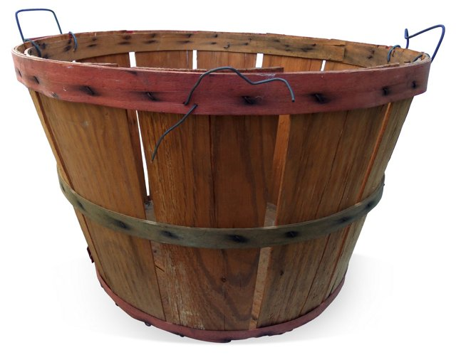Wood Apple Basket