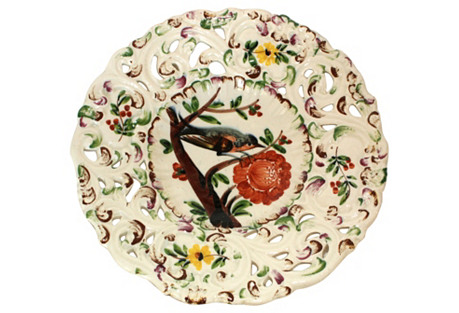 Italian Bird Plate