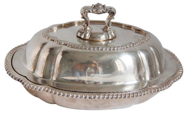 Gorham Silver Hotel Dish
