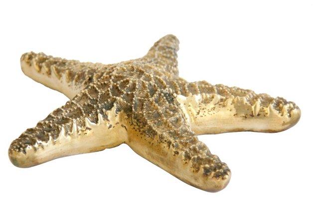 Midcentury Brass Starfish