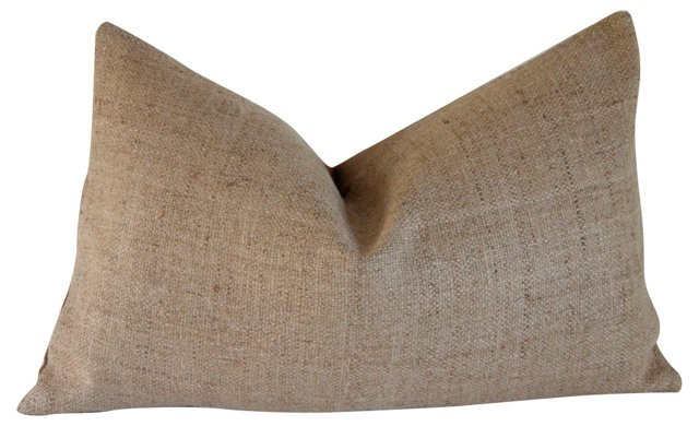 Natural Raw    Silk  Pillow