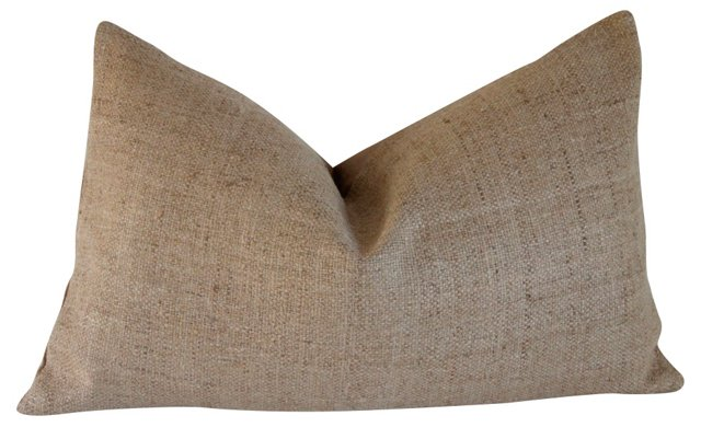 Natural Raw Silk  Pillow