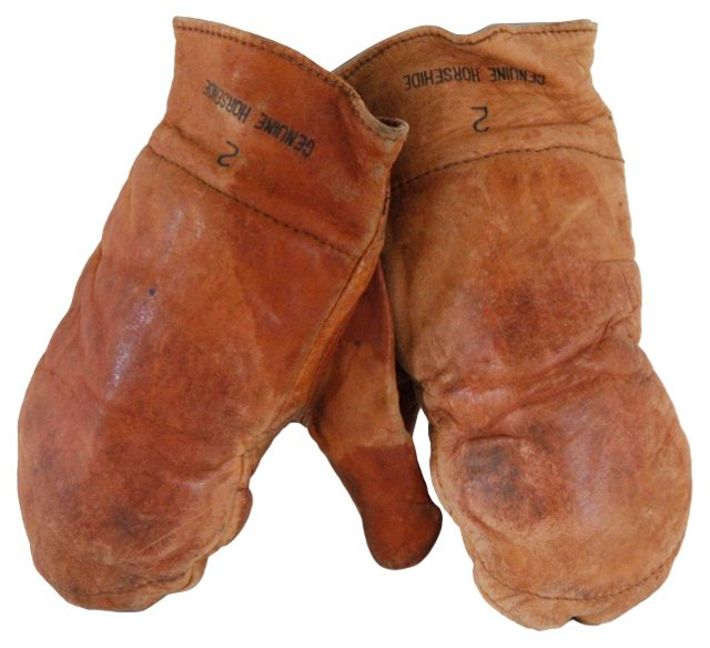 Horsehide Leather Boxing Gloves