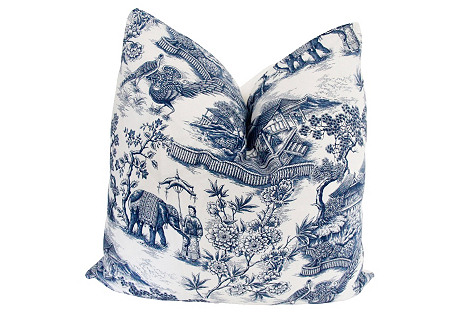 Ralph Lauren Chinoiserie Pillow