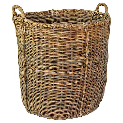 French Wicker Basket