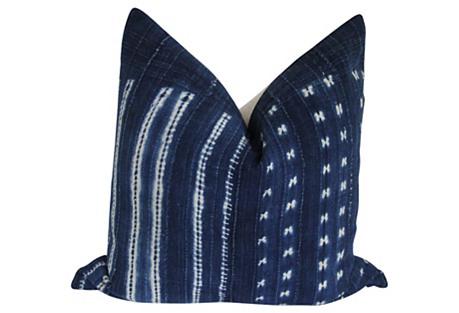 Mali Indigo & Linen Pillow
