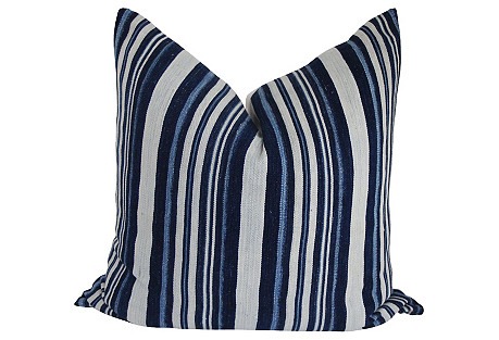 Mali Striped Mud Cloth Pillow