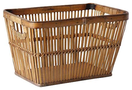 Tortoise Bamboo Basket