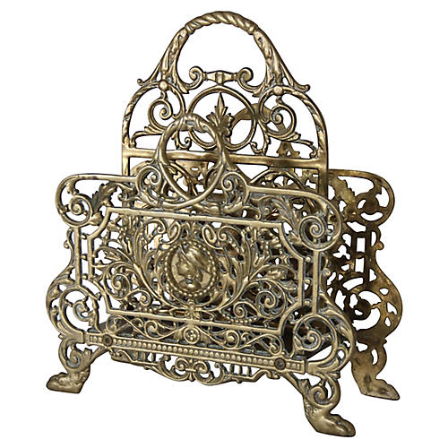 French Brass Letter Tray